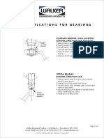 Bearings Data Sheet