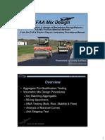 Development of Job Mix Formula