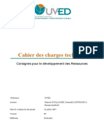 Cahier Charges Techn