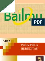 Bab5 pola Polahereditas