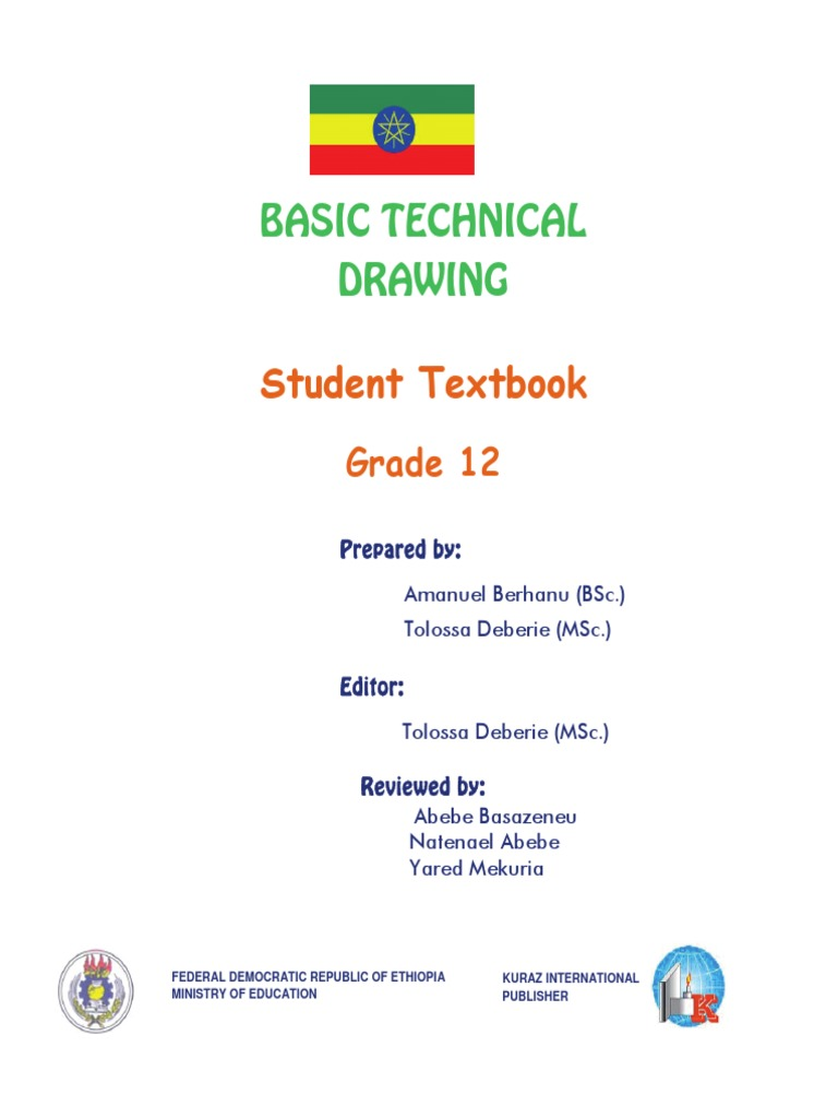 Technical Drawing_Grade-12 pdf | Ellipse | Drawing