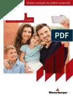 Catalog Porotherm 2017