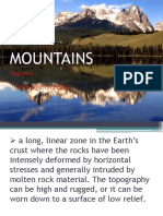 MOUNTAINS , Plateus, Volcanism