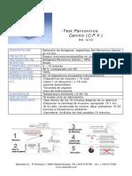 Test Parvovirus CPV Ag muestras fecales Kit.pdf