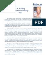 07 Texto Impreso - Biografía J K Rowling - Biografía