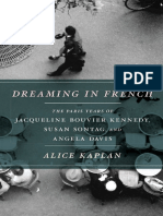 Dreaming in French the Paris Years