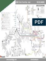 Brazil Rdj Transit System Map