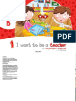 "Big story book"" I want to be a teacher"""