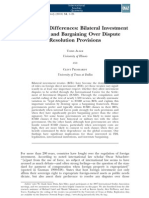 Allee - Delegating Differnces - Bilateral Investment Treaties and Bargaining Over Dispute Resolution Provisions