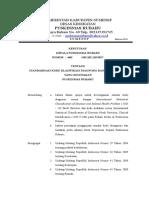 SK Kode Klasifikasi Diagnosis & Terminologi