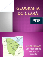 GEOGRAFIA DO CEARÁ
