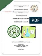 Informe Nº 01 - Control de Calidad