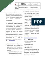 Deterinacion de Azucares Reductores en Leche Condensada