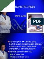 Biometri Janin