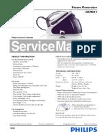 Philips Gc9241_02 Service Manual