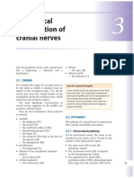 Chapter 3 Anatomical Organization of Cranial Nerves 2009 Manual Therapy for the Cranial Nerves