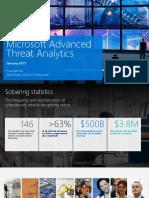 6 Microsoft Advanced Threat Analytics