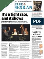 The Santa Fe New Mexican Aug. 20, 2010