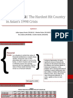 1  The Asian Financial Crisis
