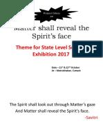 Matter Shall Reveal the Spirit