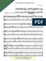 Sonhos de Deus (Acredito Sim) - Chart - PDF