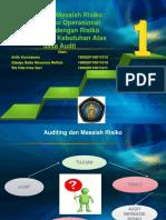 Auditing Dan Masalah Risiko