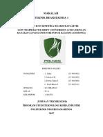 MAKALAH Kelompok 1 Katalis Pad Industri Ammonia Unit LTSC