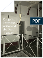 Pentridge, Justice and the Death Penalty
