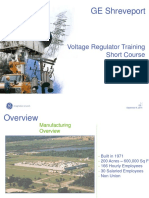 Ge Shreveport - Voltage Regulators - Short Course