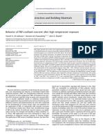Behavior of FRP-confined concrete after high temperature exposure.pdf