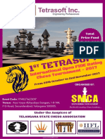 1st TETRASOFT International Open FIDE Rating Chess Tournament 2017.Compressed