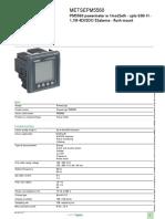 Schneider Electric METSEPM5560 Datasheet