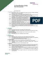 project kickstarter - functional design specification v2