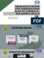 Laporan Kerja Praktik Proyek Pembangunan Jalan Tol Surabaya-mojokerto