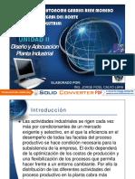 U2 Diseño y Adecuacion Planta Industrial