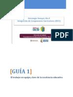Guia 1_ El Trabajo en Equipo Clave de La Excelencia Educativa
