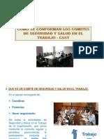 Como Se Conforma Un Comite de Seguridad y Salud en El Trabajo - CSST