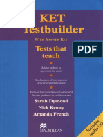 KET Testbuilder With Answer Key