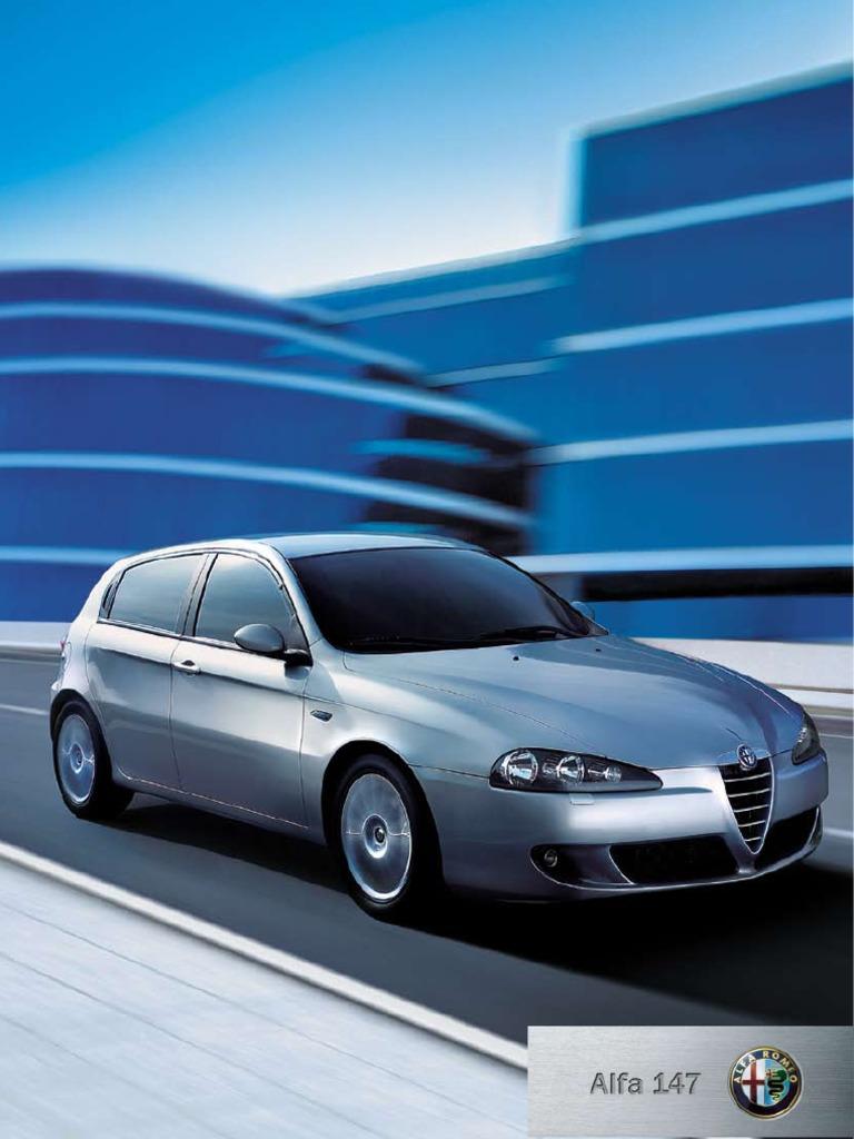 Alfa Romeo 147 2006 Manual Transmission Diesel Engine 159 Workshop Download
