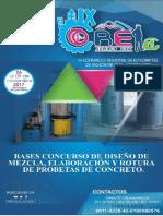 Bases Concurso Interno Diseño de Mezcla
