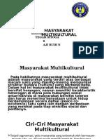 MASYARAKAT MULTIKULTURAL PPT