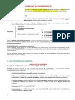 Tema 3. Gobierno y Administración