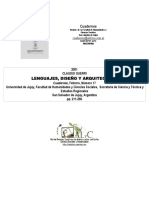 Lenguajes,Diseño y Arquitectura