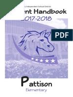 pe student handbook