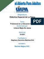 Unidad IVLinavel Mejia Didactica Especial de La Fisica