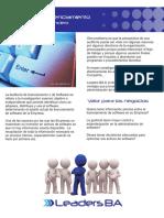 Brochure Auditoria Licenciamiento CMYK