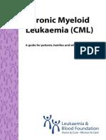 CML Chronic Myeloid Leukaemia gude for patients
