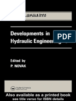Developments in Hydraulic Engineering