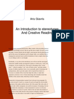 An Introduction to Stereotypes and Creative Reading