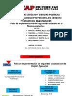 Proyecto de d Municipal Regional